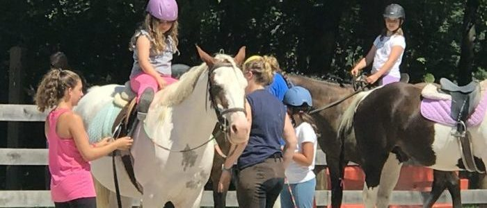 Riding Lessons and Summer Horse Camps are now in full swing at Graham Equestrian Center